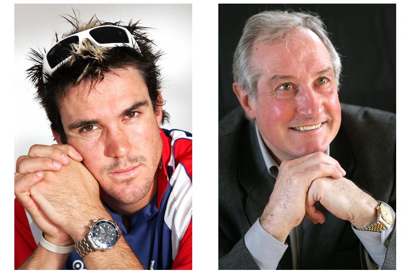 Kevin Pieterson (Cricket) & Gareth Edwards (Rugby)