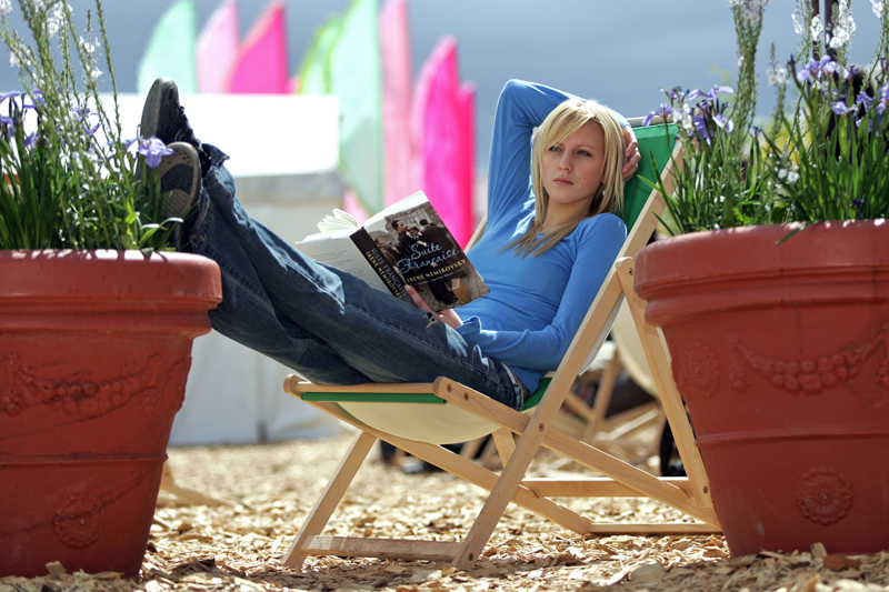 Anna Marcheselli at Hay Festival