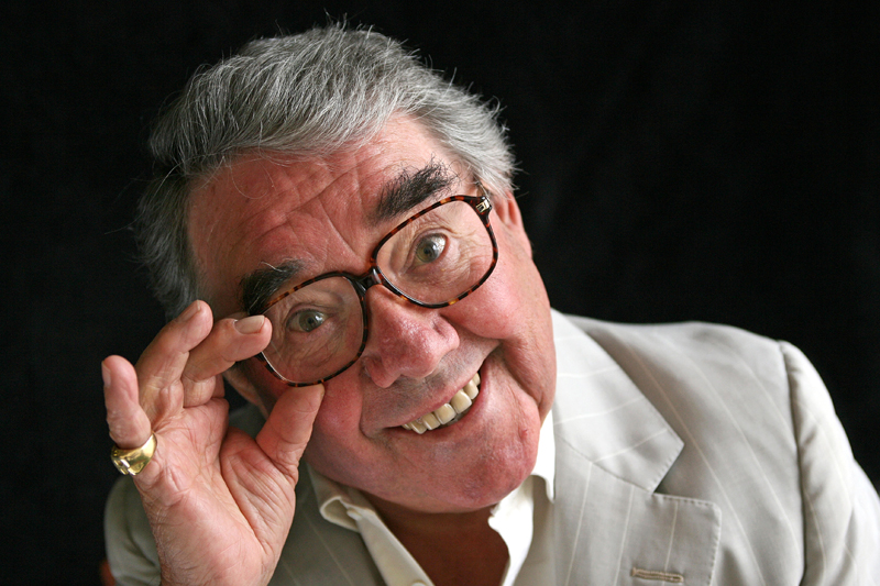 A portrait of Ronnie Corbett