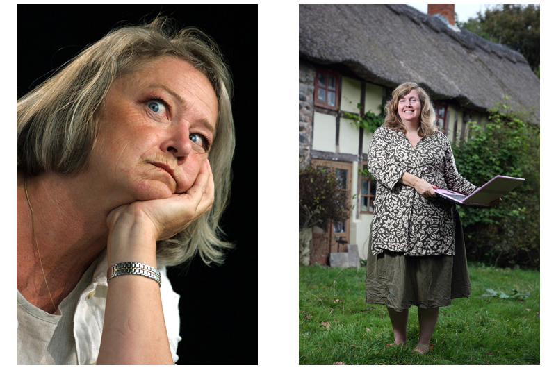 Kate Adie and Myfannwy Alexander